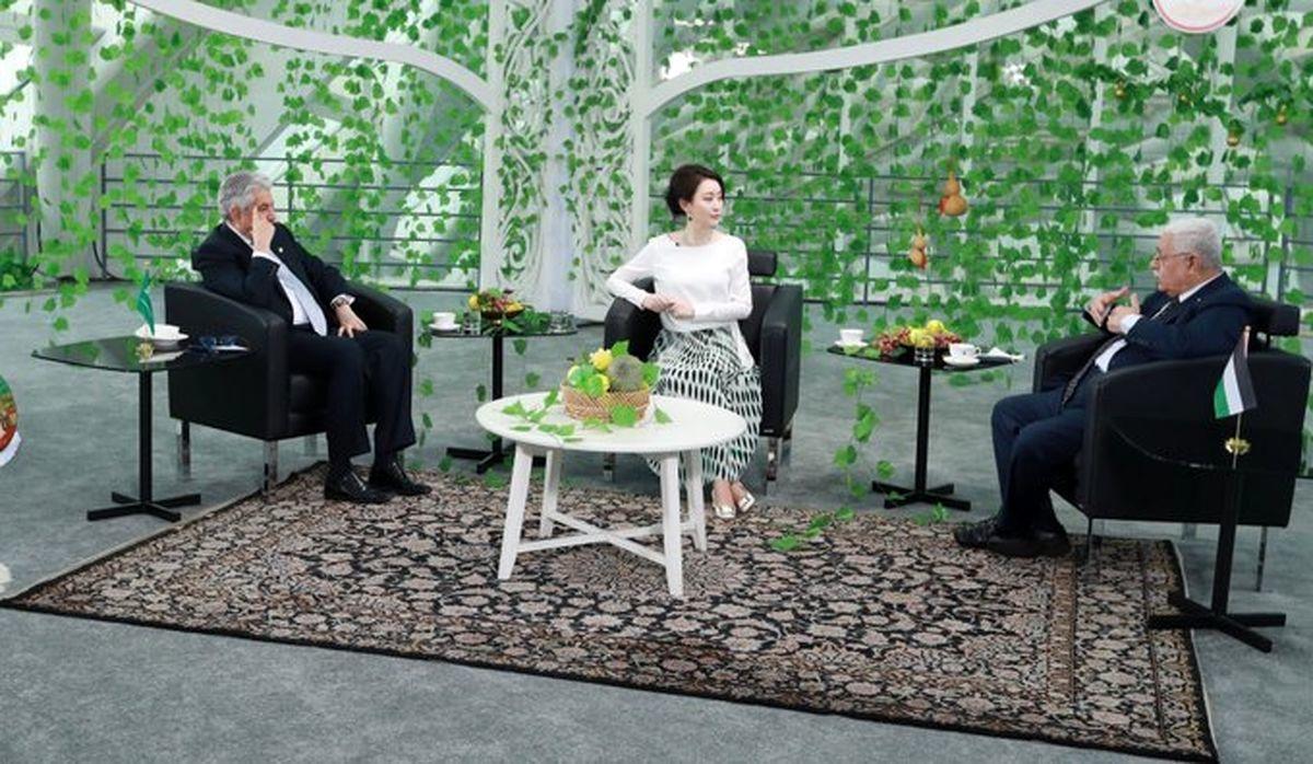 زیبایی فرش ایرانی در برنامه تلویزیونی چین +عکس