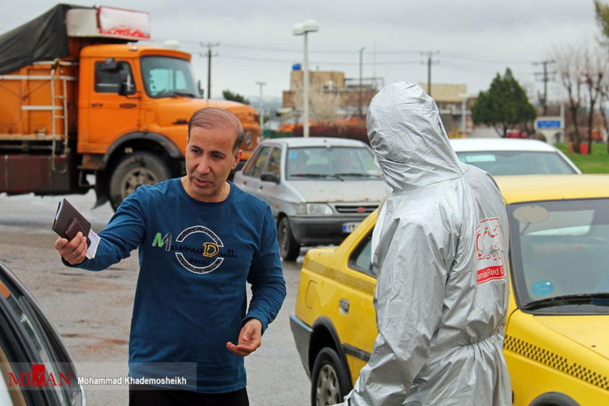 تصاویر: جلوگیری از ورود خودروهای غیر بومی و مسافران در بروجرد