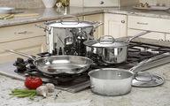 ۵ مزایای استفاده از ظروف استیل در پخت و پز