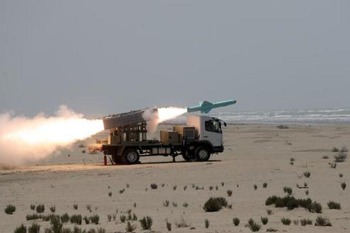 شلیک موفق نسل جدید موشکهای کروز دریایی ارتش