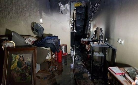 آتشسوزی بامدادی در برج مسکونی شهرک غرب+ تصاویر