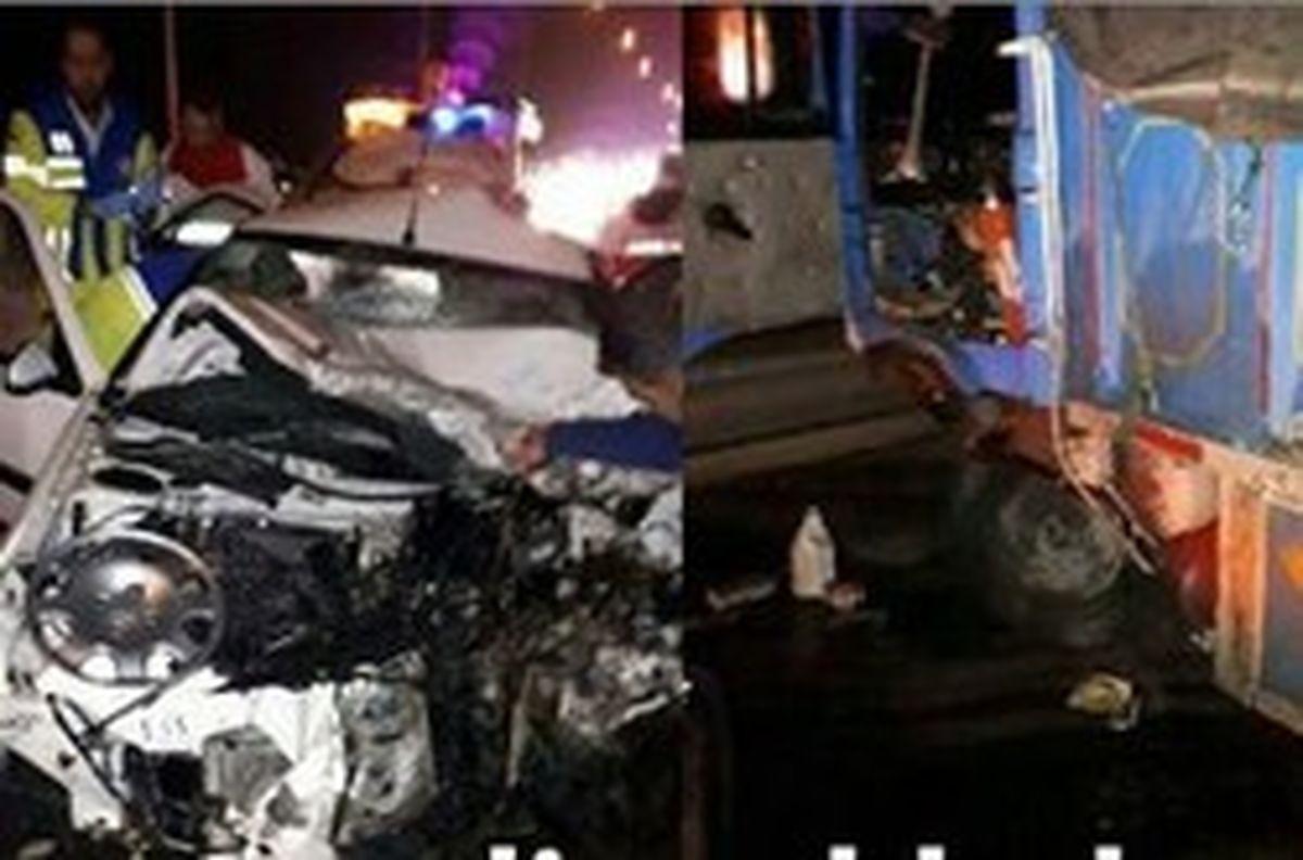 تصادف مرگبار در سیستان و بلوچستان