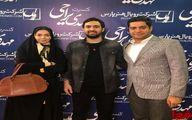 آزاده نامداری و همسرش در کنسرت مهدی یراحی +عکس