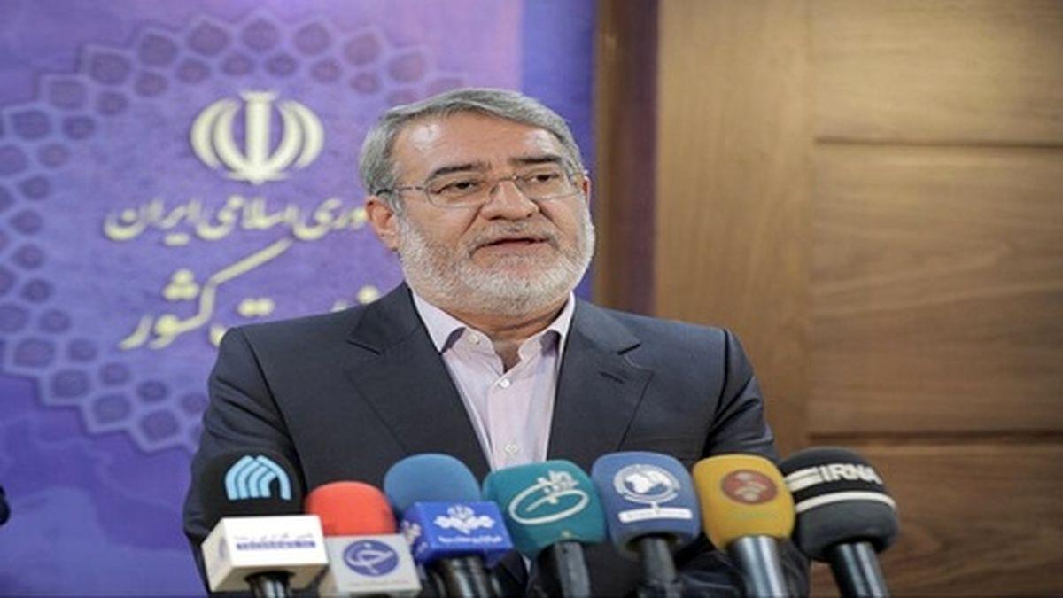 تدابیر وزارت کشور برای امنیت انتخابات از زبان وزیر