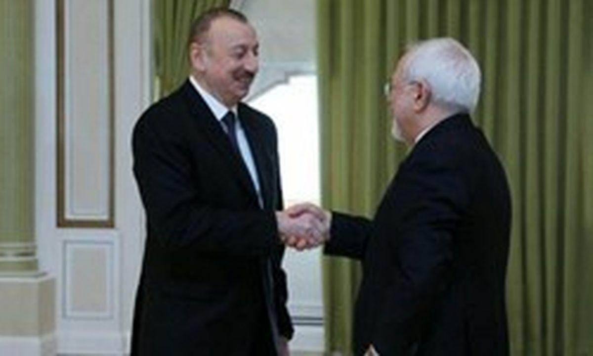 استقبال علی اف از سفر نوروزی حسن روحانی به باکو