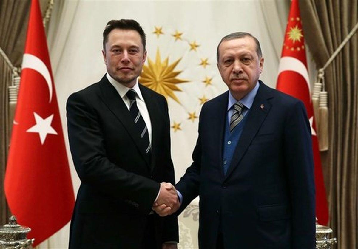 ماجرای دیدار اردوغان و ایلان ماسک چیست ؟ +تصاویر