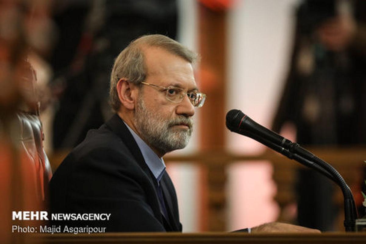 لاریجانی:برای ریاستجمهوری برنامهای ندارم