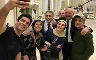 همسر بازیگر معروف ایرانی کرونا گرفت +عکس