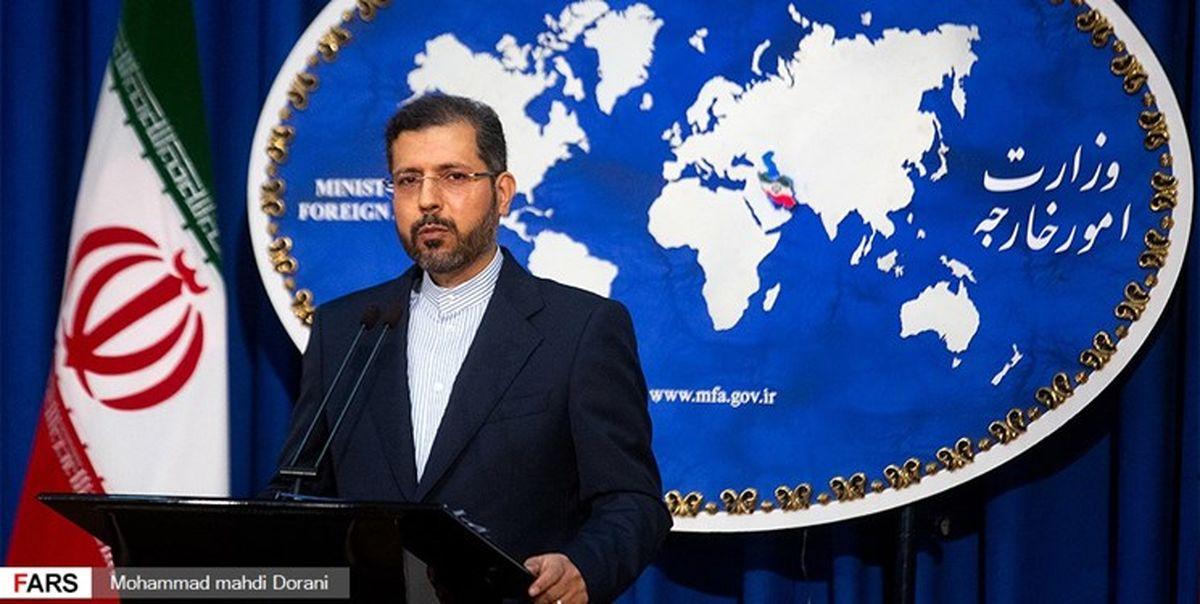 واکنش تهران به تحریم های اتحادیه اروپا علیه ایران