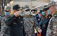 بازدید رئیس ستاد کل نیروهای مسلح و فرمانده کل ارتش از قرارگاه پدافند هوایی خاتمالانبیا (ص)