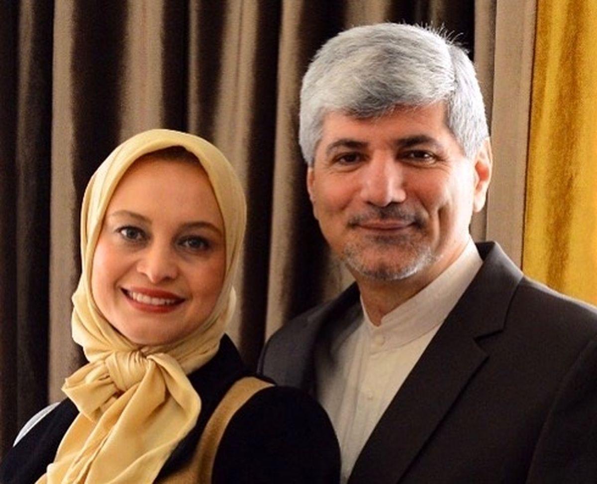 طلاق مریم کاویانی از رامین مهمانپرست سفیر ایران | جدایی خانم بازیگر از همسر دومش +عکس