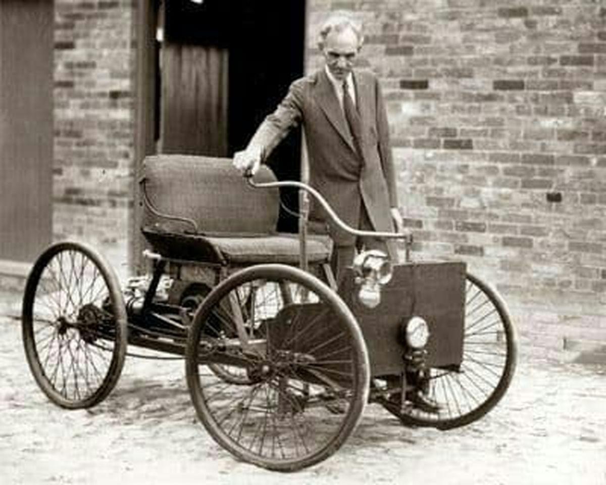 اولین اتومبیل مدل فورد +عکس