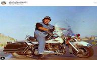 موتور لاکچری ابوالفضل پورعرب +عکس