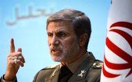 وزیر دفاع: حفظ امنیت خلیج فارس و تنگه هرمز بر عهده ایران است