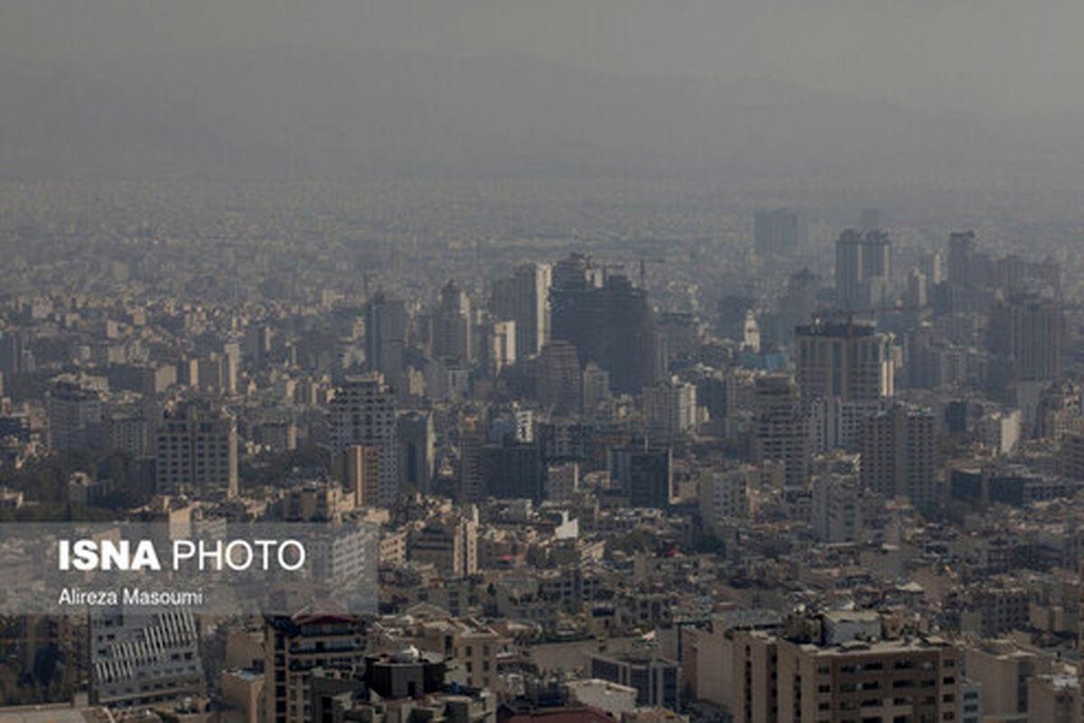 ناسالمترین هوای منطقه امروز تهران کجاست؟