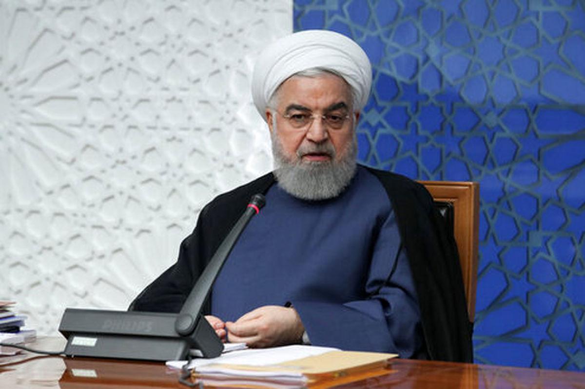 واکنش روحانی به آشفتگی بازار ارز و سکه؛ عملیات روانی دشمن است