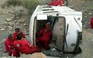 واژگونی مرگبار اتوبوس شرکت ملی حفاری +عکس
