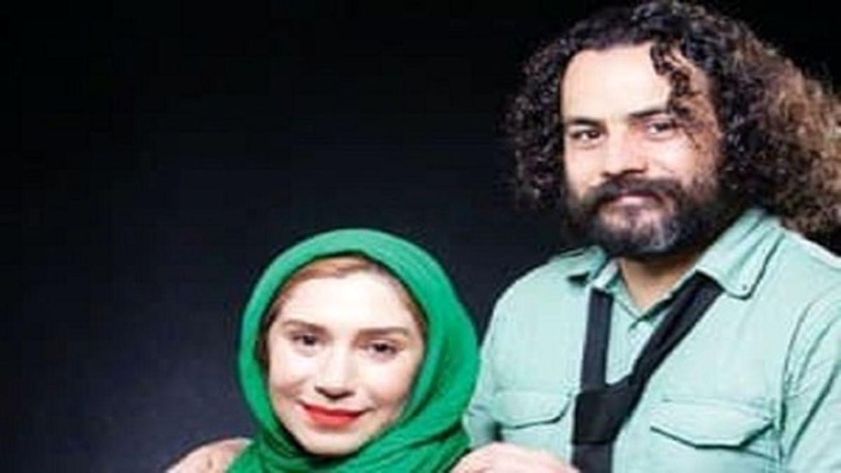 همسر بازیگر زن ایرانی درگذشت +عکس