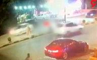 تصادف وحشتناک پژو با عابر پیاده در مهاباد +فیلم