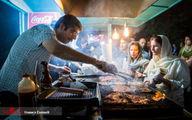 دود غذافروشیهای سی تیر در چشم تاریخ ایران +تصاویر