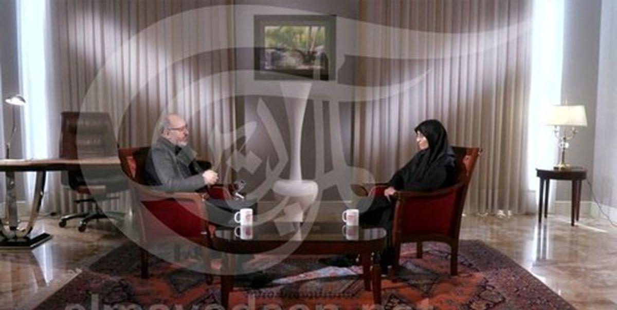 مصاحبه دختر ابومهدی با شبکه المیادین درباره حاج قاسم