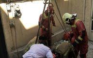 نجات معجزهآسای پسر جوان پس از سقوط به چاه +تصاویر