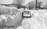 برف و بوران سال۱۳۵۰ در ایران گینسی شد +عکس