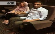عکس: نصرالله رادش و همسرش
