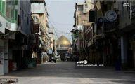 تصاویر: سکوت در حوالی حرم امام علی