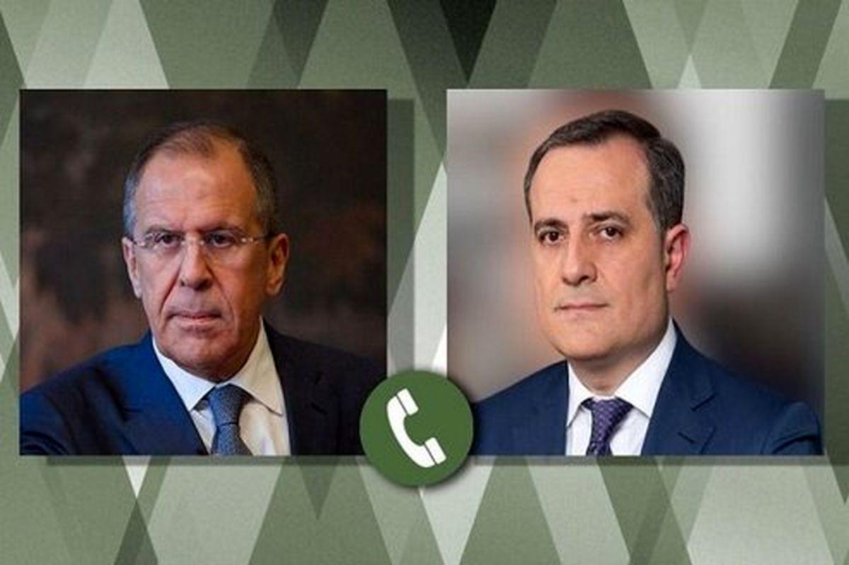 گفتگوی تلفنی وزرای خارجه روسیه و جمهوریآذربایجان