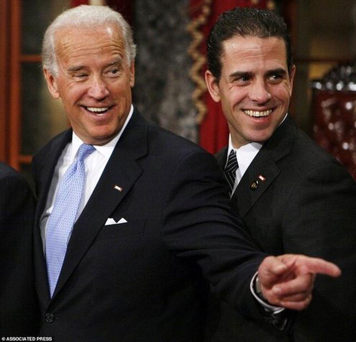 گندی که پسر جو بایدن با لپتاپش زده است! +عکس