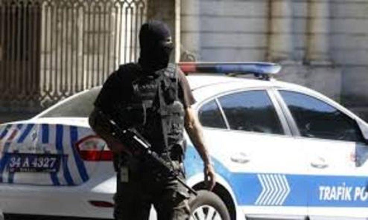 تدابیر شدید امنیتی پلیس ترکیه برای مبارزه با کرونا +فیلم