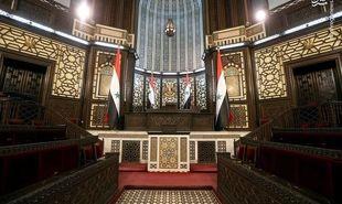 تصاویر: بازدید هئیت ایرانی از پارلمان زیبای سوریه