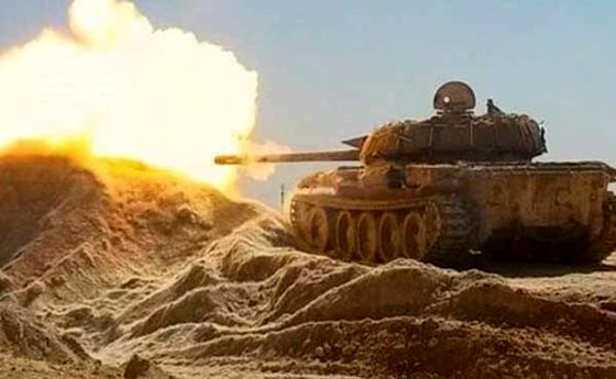 نبرد شدید ارتش سوریه با تروریستها در غرب حلب