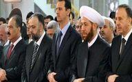 شرکت بشار اسد در جشن میلاد رسول اکرم (ص) در دمشق +عکس