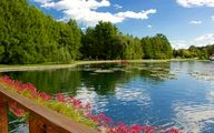 هویز بزرگترین دریاچه آب گرم دنیا