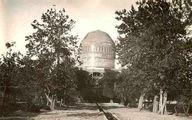 عکس: نمایی قدیمی از آرامستان خواجه ربیع
