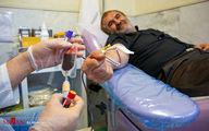 تصاویر: اهدای خون در شب بیست و سوم ماه رمضان