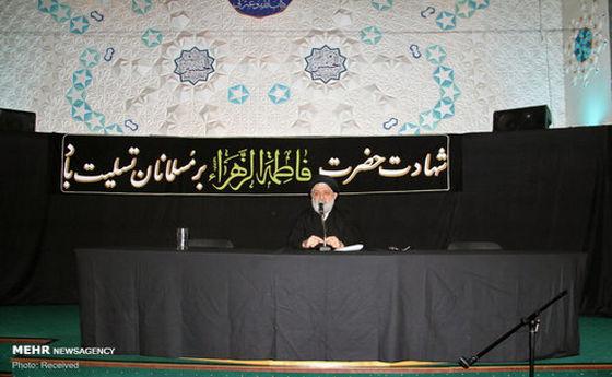 تصاویر: عزاداری سالروز شهادت حضرت فاطمه(س) در لندن