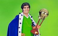 پیکان آلبالویی، جایزه مرد سال فوتبال ایران +عکس