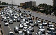 ترافیک نیمهسنگین در آزادراه تهران ـ قم