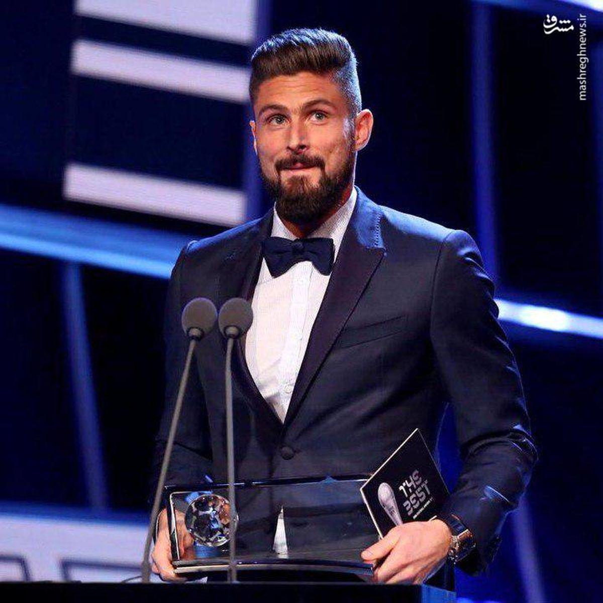 عکس: چه کسی برنده بهترین گل سال ۲۰۱۷ شد؟