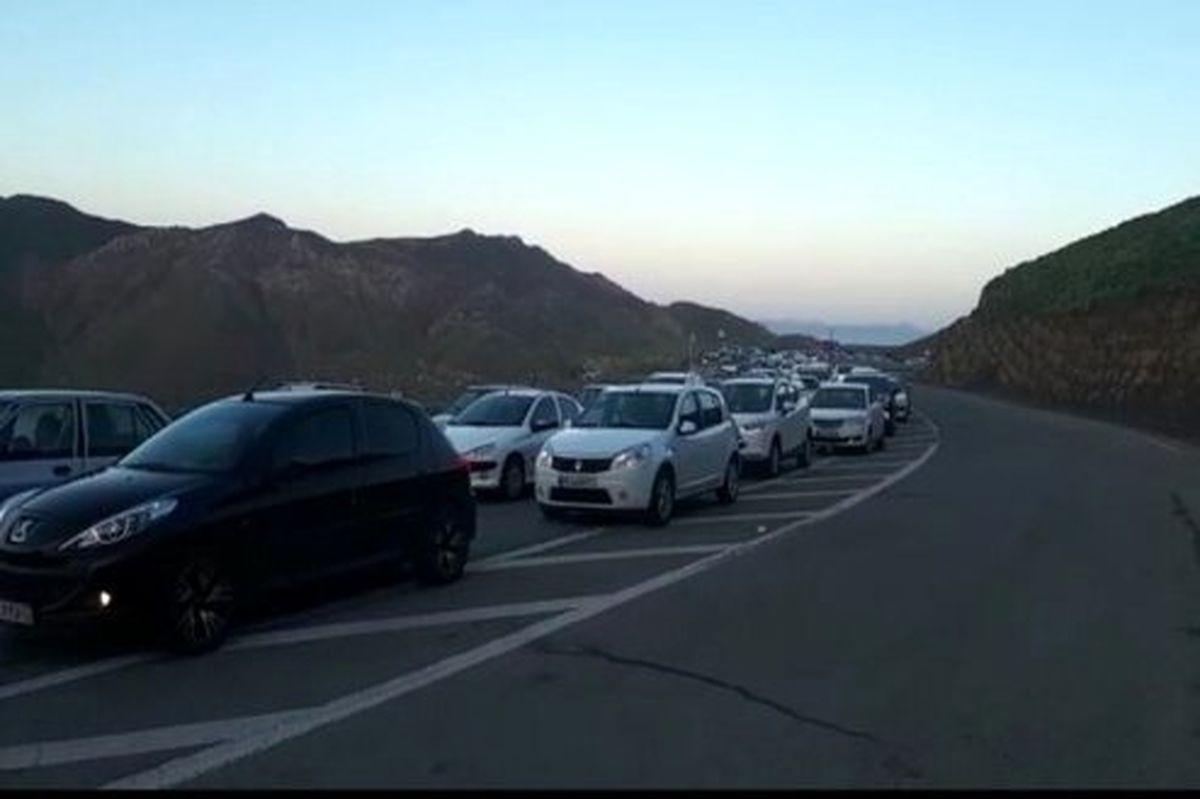 کندوان یک طرفه شد/ ترافیک سنگین در هراز