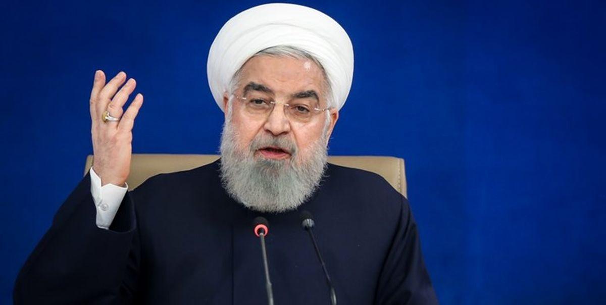 روحانی:  برجام از بس بزرگ بود دنیا توطئه کرد تا کمرش را بشکند +فیلم