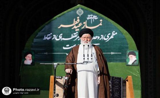 کنایه علمالهدی به صحبتهای دیروز احمدینژاد