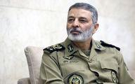 امیر سرلشکر موسوی: ارتش کمتر حرف میزند و بیشتر عمل میکند