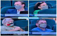 ماسکهای جالب اعضای پارلمان ایرلند +عکس