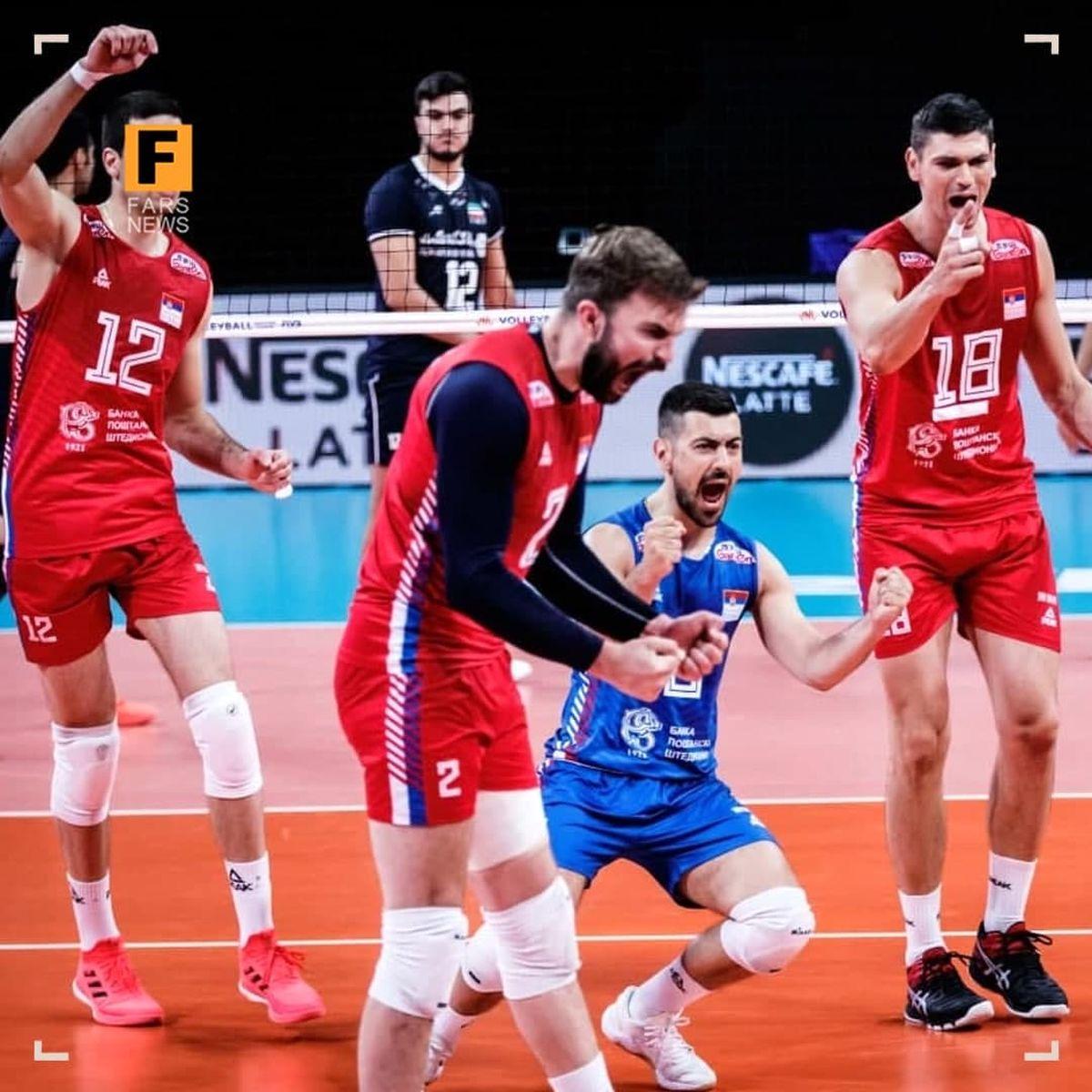 صربستان نوار پیروزیهای ایران را قطع کرد