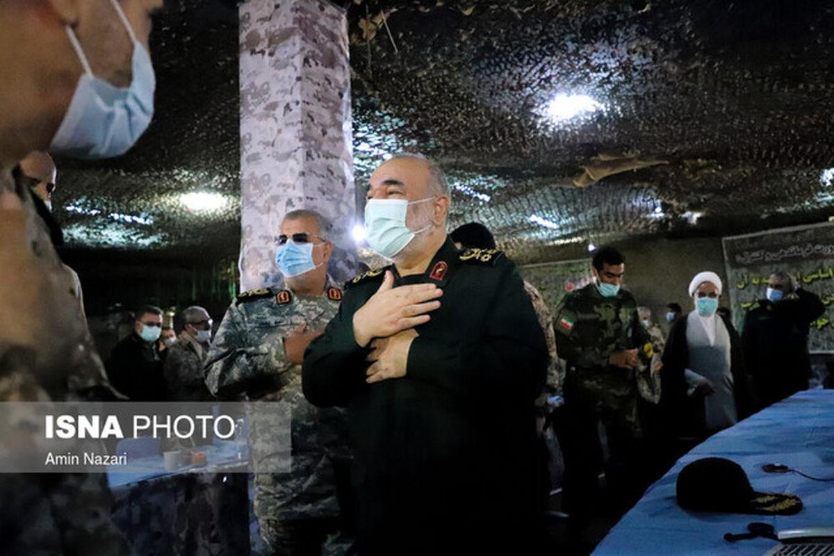 سردار سلامی: ایران سرزمین مقاومت است