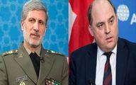موضع وزیر دفاع نسبت به اظهارات همتای انگلیسی خود + جزئیات